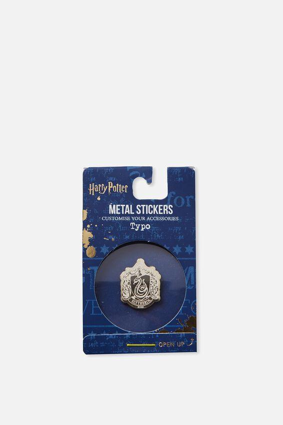 Harry Potter Metal Sticker, LCN HP SLYTHERIN