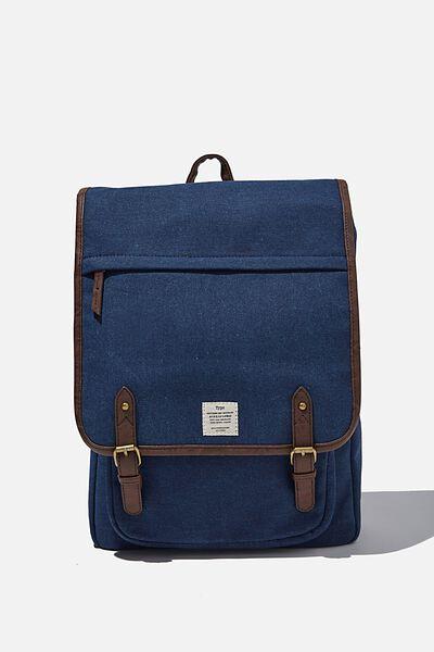 Heritage Backpack 2.0, WASHED NAVY