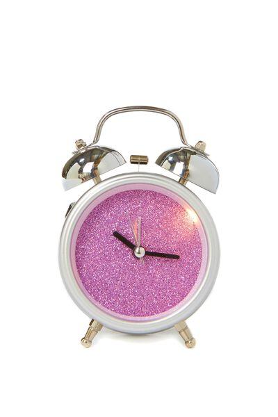 Alarm Clock, CIRCLE SILVER