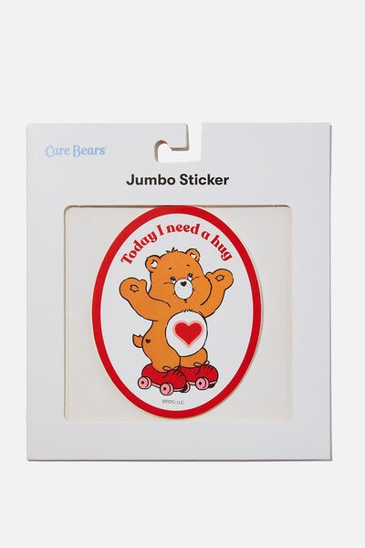 Jumbo Sticker, LCN CLC NEED A HUG