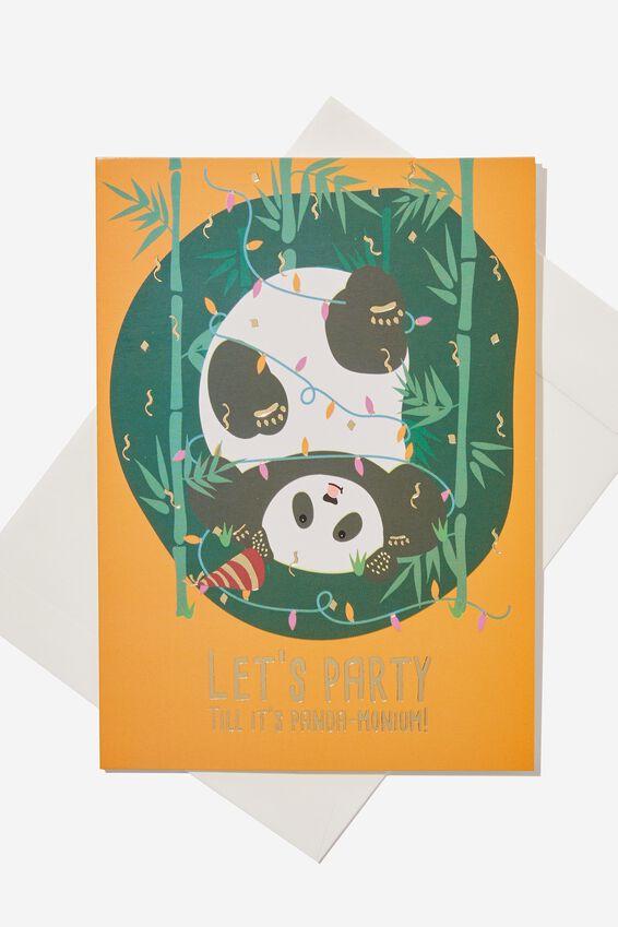 Nice Birthday Card, SMALL PRETTY PANDAMONIUM