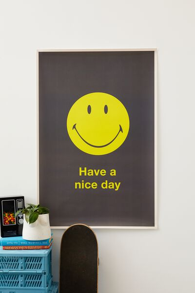 Hang Out Poster, LCN SMI SMILEY NICE DAY