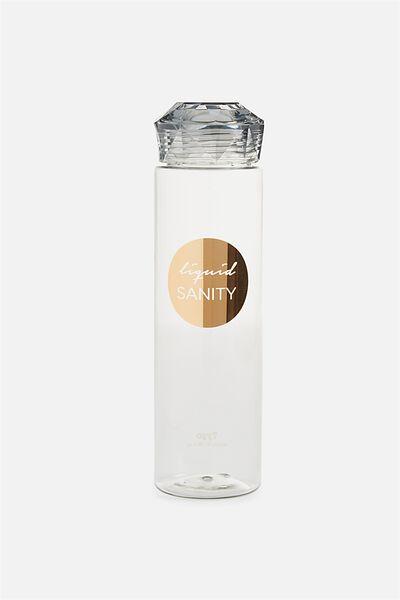Gem Drink Bottle, LIQUID SANITY