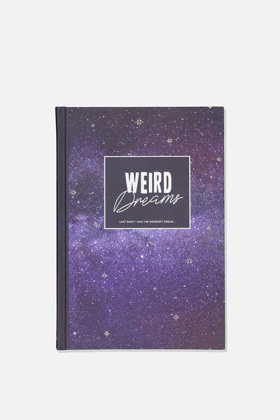 A5 Fashion Activity Journal, WEIRD DREAMS