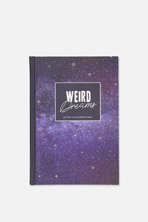 A5 Dreams Activity Journal, WEIRD DREAMS