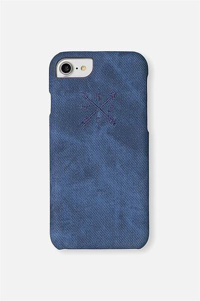 Textured Universal Phone Cover 6, 7, 8, EMBROIDERY ARROWS