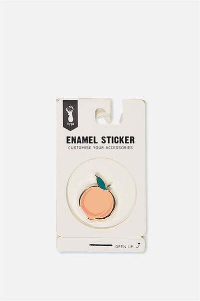 Enamel Stickers, PEACH