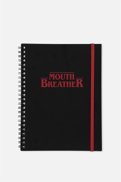 A5 Spinout Notebook - 120 Pages, LCN ST MOUTH BREATHER