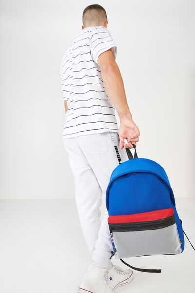 Omw Backpack, BLUE NEOPRENE