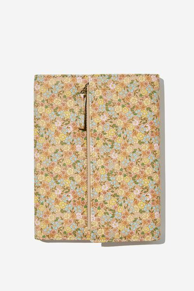 2022 Zip Pocket Diary, DITSY FLORAL SAND