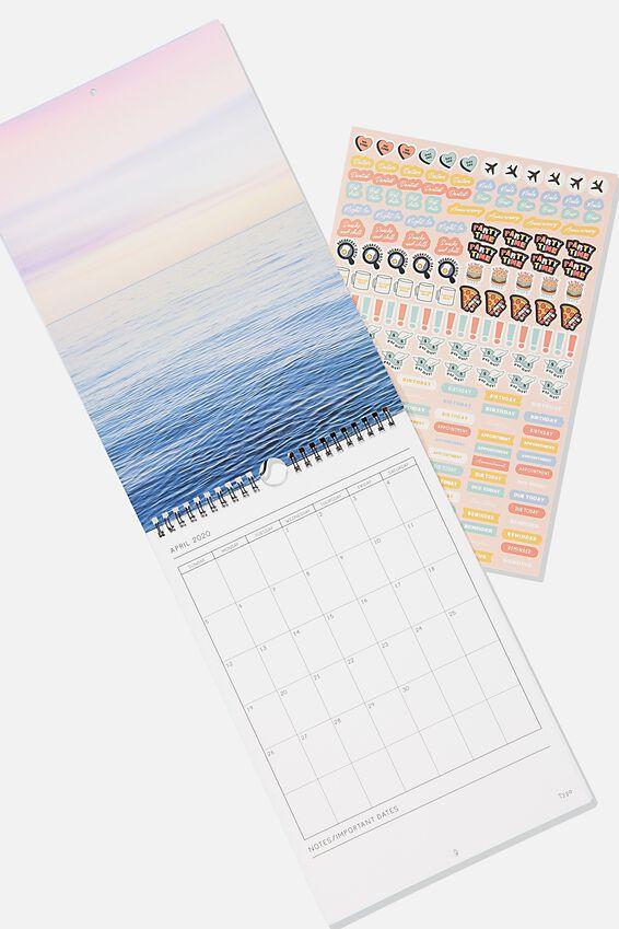 2020 Get A Date Calendar, BOHO