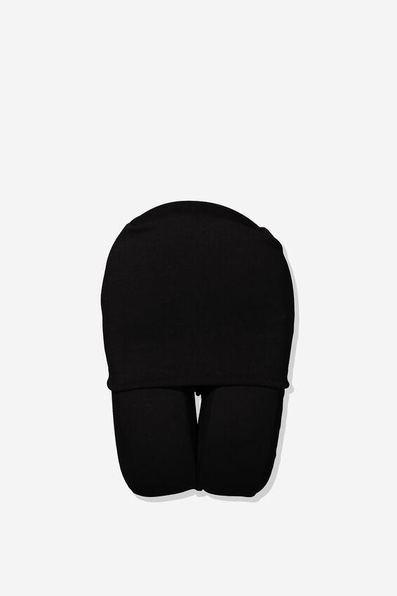 Travel Neck Pillow, BLACK