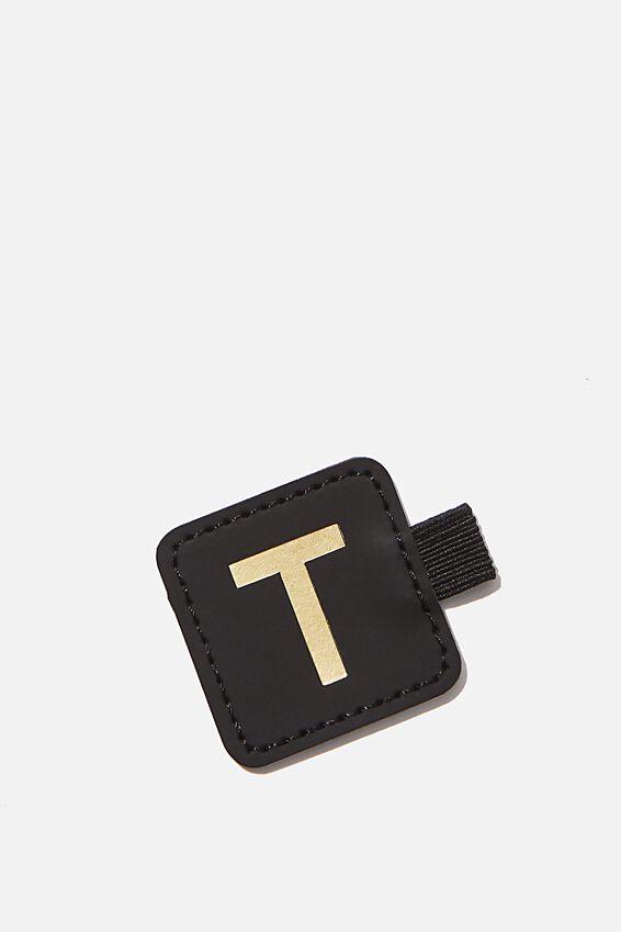 Pen Loop Sticker, BLACK T