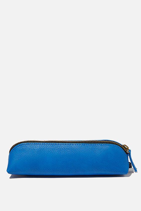 Buffalo Barrel Pencil Case, TRUE BLUE