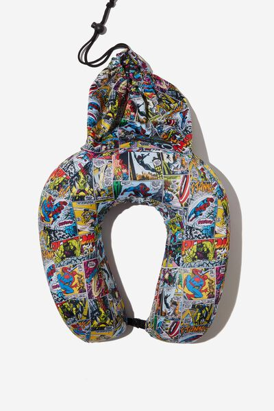 Foam Travel Neck Pillow, LCN MAR MARVEL YARDAGE