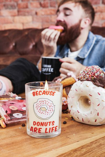 Treat Yo Self Candle, DONUT WITH SPRINKLES