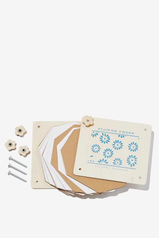 DIY Flower Press Kit, FLOWER PRESS