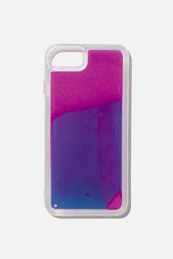 Shake It Phone Case Universal 6,7,8, LIQUID SAND BLUE
