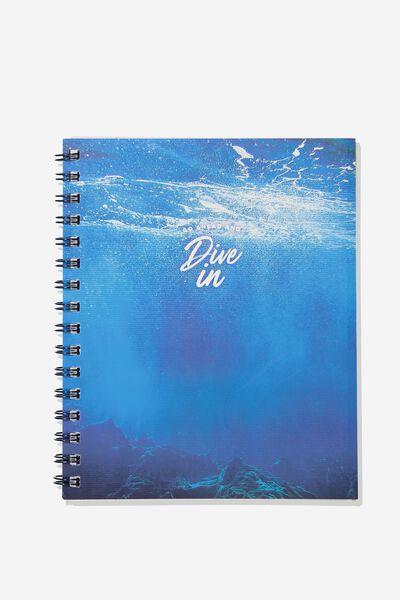 A5 Campus Notebook, DIVE IN
