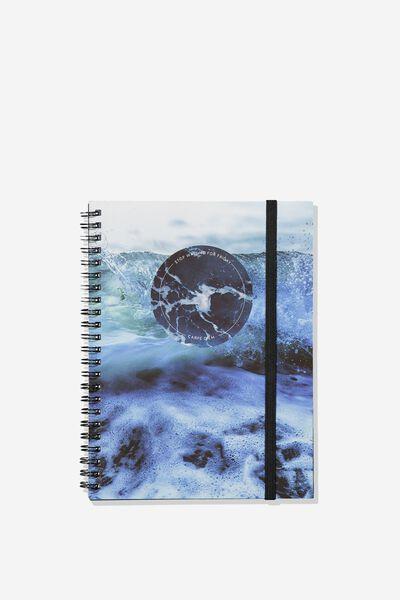 Small Spinout Notebook - V, CARPE DIEM OCEAN