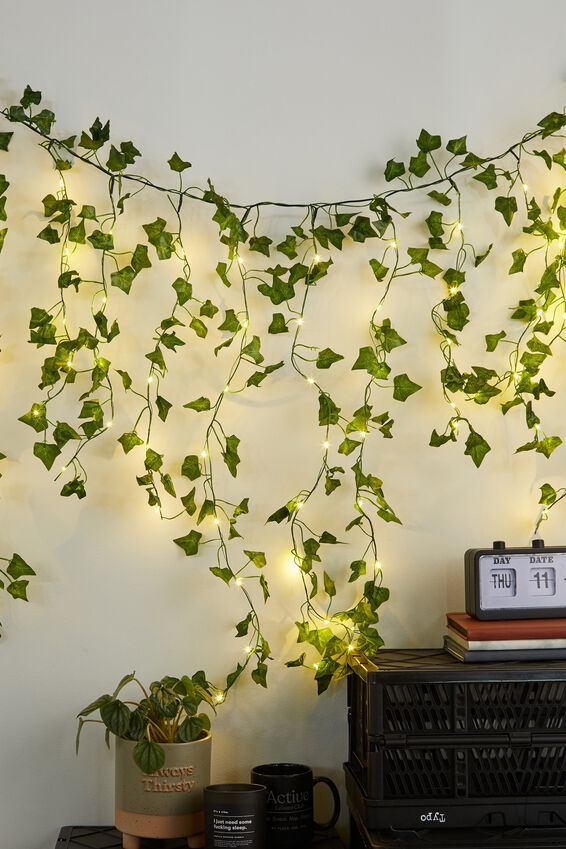 Usb Premium Cascading Lights, LEAVES