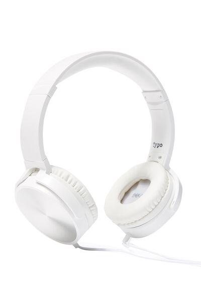 Reverb Headphones, SILVER & WHITE