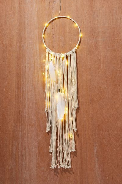 Light Up Dreamcatcher, WHITE