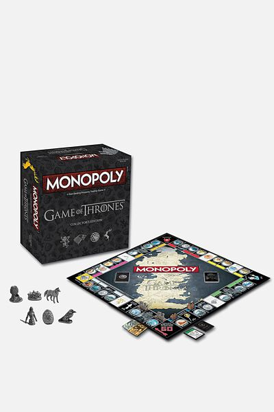 Game of Thrones Monopoly Board Game, LCN ASSORTED