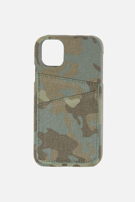 Cardholder Phone Cover Cvs Iphone 11, CAMO