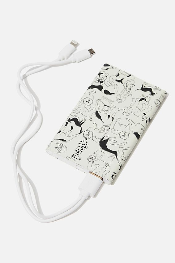 Printed Charge It Charger, DOGS