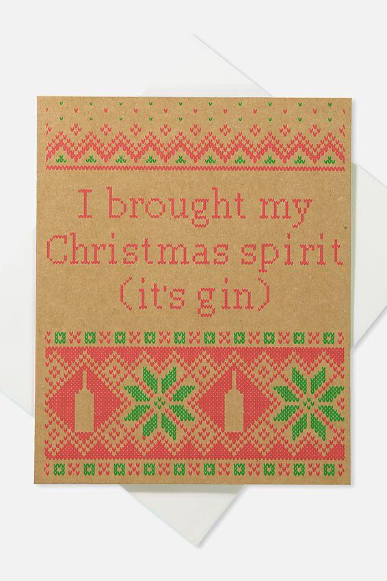 2018 Christmas Card, CHRISTMAS SPIRIT!
