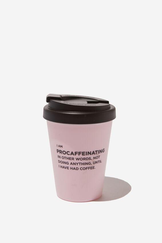 Take Me Away Mug, PROCAFFEINATING