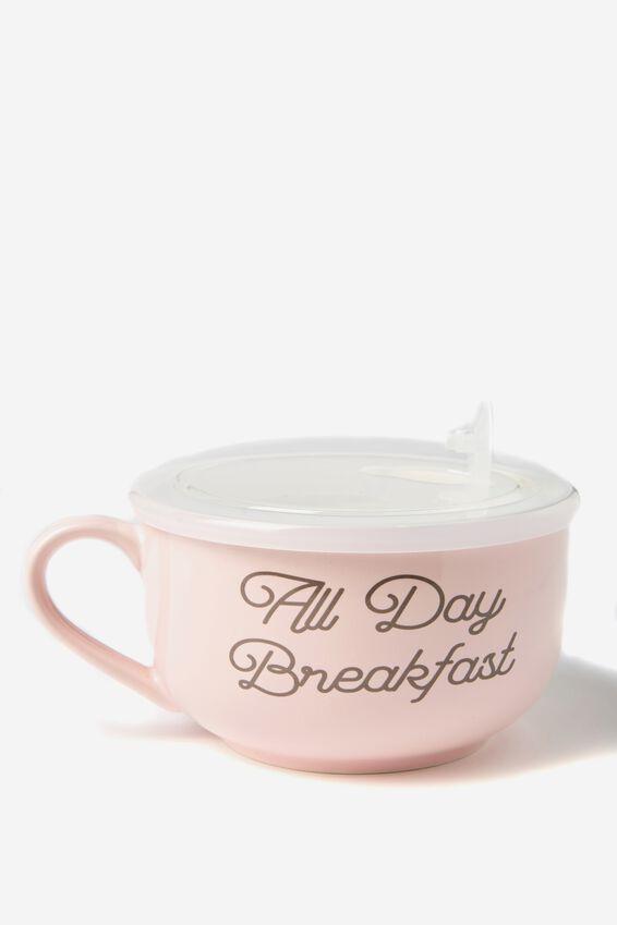 Big Mug Bowl, ALL DAY BREAKFAST