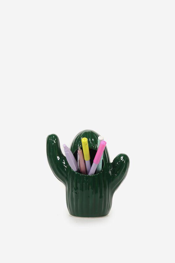 Pen Holder, CACTUS