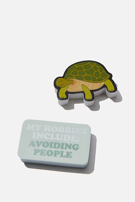 Eraser Pack, TURTLE AND HOBBIES