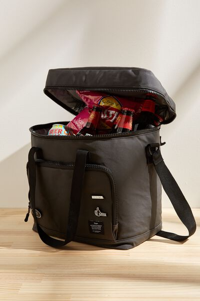 Day For It Cooler Bag, BLACK