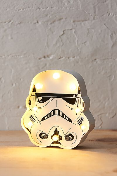 Shaped Mini Marquee Light, LCN STORM TROOPER