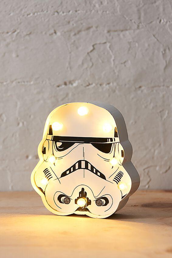 Star Wars Marquee Light, LCN STORM TROOPER