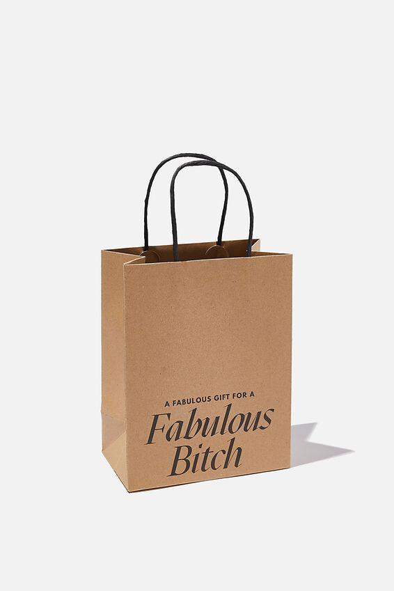 Get Stuffed Gift Bag - Small, FABULOUS BITCH CRAFT!