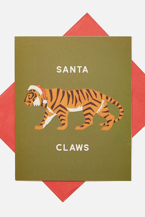 Christmas Card 2020, SANTA CLAWS