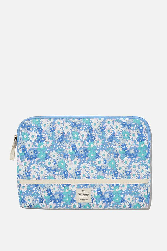 "Take Me Away 11"" Laptop Case, RG DITSY CORNFLOWER"