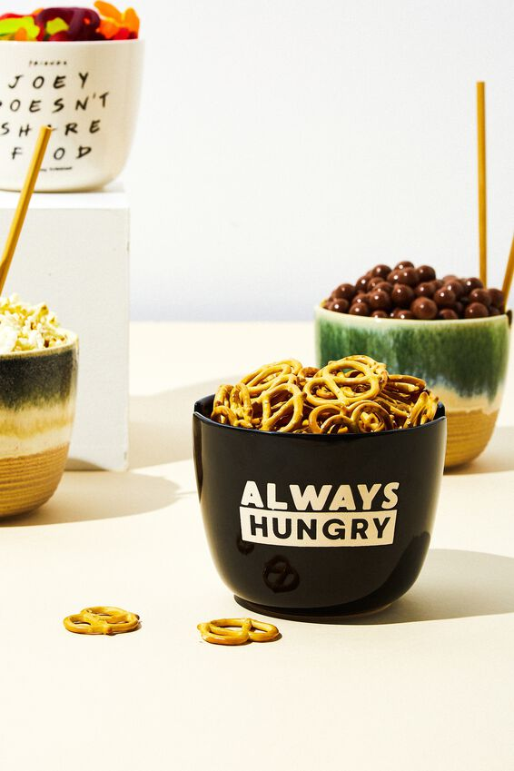 Feed Me Bowl, ALWAYS HUNGRY BLACK