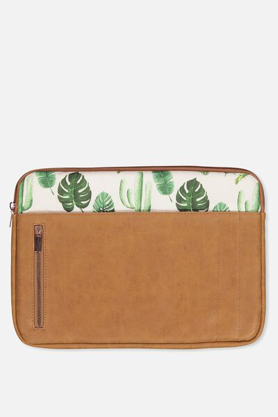 "Take Charge Laptop Cover 13"", PLANTS"