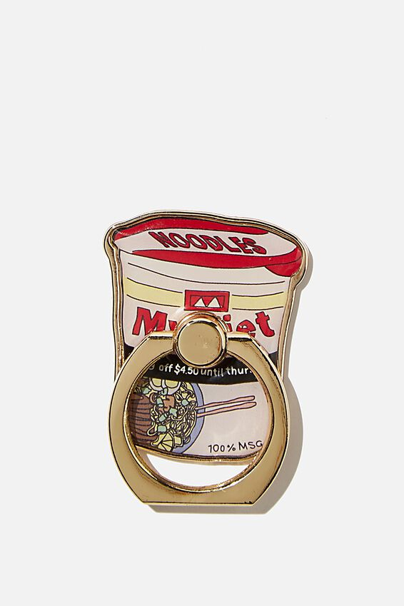 Enamel Phone Ring, NOODLES