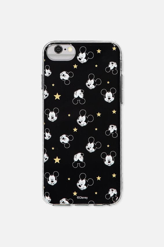 Printed Phone Cover Universal 6,7,8, LCN BLACK MICKEY YARDAGE