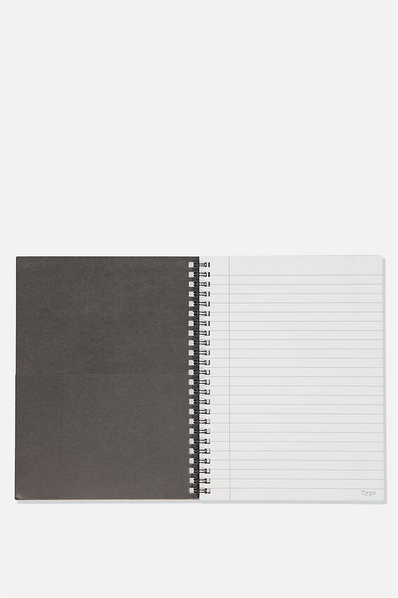 A5 Spinout Notebook Recycled,