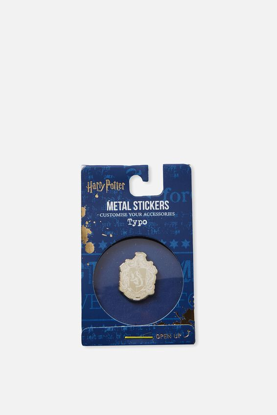 Harry Potter Metal Stickers, LCN WB HPO HUFFLEPUFF