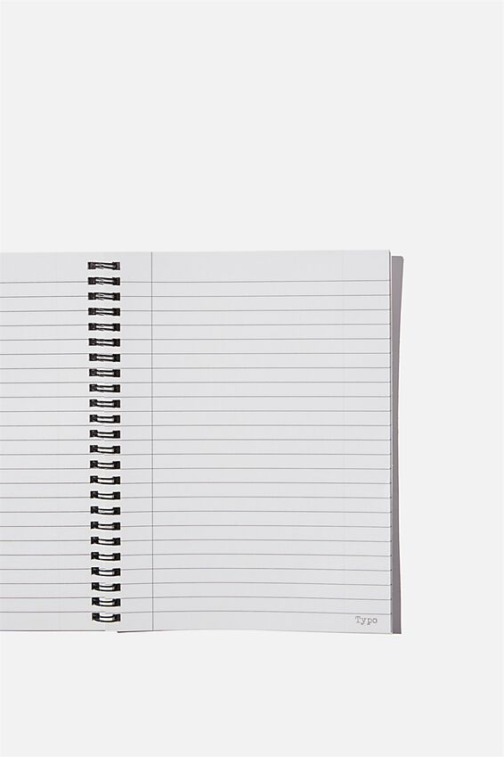 A5 Spinout Notebook Recycled, BACK YOURSELF
