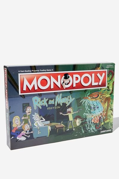Monopoly Board Game, LCN RICK MORTY