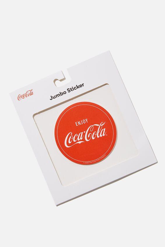 Coca Cola Jumbo Sticker, LCN COK COCA COLA